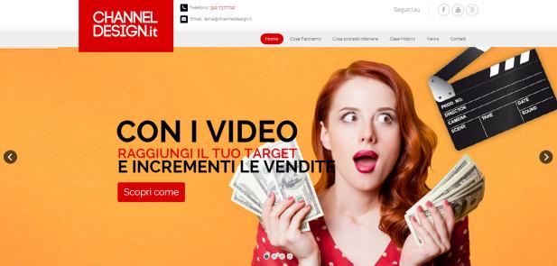 Channel Design - realizzazione sito web